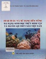 Khai thác và sử dụng bền vững đa dạng sinh học thủy sinh vật và nguồn lợi thủy sản việt nam