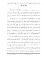 """LUẬN VĂN TỐT NGHIỆP: """"Kế toán tiêu thu và xác định kết quả kinh doanh tại Công Ty Cổ Phần Trường Sơn""""."""