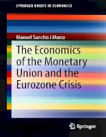 marco - the economics of the monetary union and the eurozone crisis (2014)