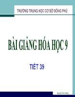 BÀI 31-SƠ LƯỢC VỀ BẢNG TUẦN HOÀN CÁC NTHH 1