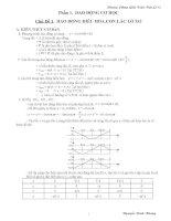 Phương pháp giải bài tập Vật lý lớp 12