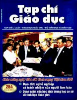 Tạp chí giáo dục ( Số 264kì 2 tháng 6/2011 )