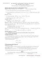 đề thi thử tư duy đại học 2012-2