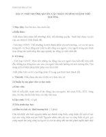 giáo án địa lý 10 bài 17 thổ nhưỡng quyển. các nhân tố hình thành thổ nhưỡng