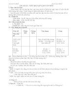 MTĐ Bài viết văn số 5-Lớp 9