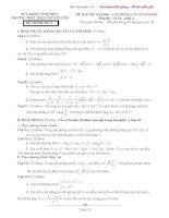 đề thi thử tư duy đại học 2012-4