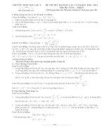 đề thi thử tư duy đại học 2012-6