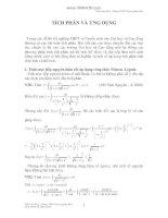 Hệ thống PP tính tích phân qua các kỳ thi Đại học