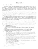 Tiểu luận Những cống hiến của chủ tịch Hồ Chí Minh trong sự nghiệp giải phóng dân tộc