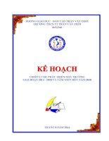 Chiến lược phát triển giáo dục trường THCS giai đoạn 2014 2020