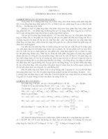 Bài giảng hóa đại CƯƠNG 2 chương 2  cân BẰNG hóa học, cân BẰNG PHA