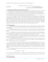 Bài giảng hóa đại CƯƠNG 1 chương 12  các hệ NGƯNG tụ, LIÊN kết và cấu TRÚC PHÂN tử
