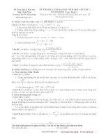 đề thi thử tư duy đại học 2012-3