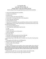 Bài tập điều kiện môn kế toán quản trị