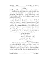 Tìm hiểu yếu tố truyền thống và hiện đại trong tập thơ Mẹ và Em của Nguyễn Duy