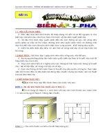 Hướng dẫn thực tập quấn dây tính toán dây quấn biến áp 1 pha