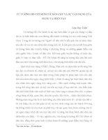 TƯ TƯỞNG hồ CHÍ MINH về dân CHỦ và sự vận DỤNG của ĐẢNG TA HIỆN NAY