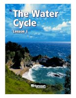 water cycle lesson 1