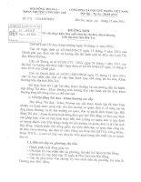 Hướng dẫn số 54 Về việc thực hiện quy chế công tác thi đua, khen thưởng trên địa bàn tỉnh Bến Tre
