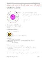 Lý thuyết và bài tập hoá học đại cương
