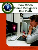 how video game designers use math