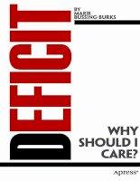 bussing-burks - deficit; why should i care (2011)
