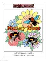 honey bee mini books