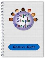 super simple phonics gesture guide