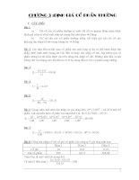 bài tập chương 3 - định giá cổ phần