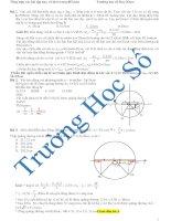 Tổng hợp các bài tập vật lý hay và khó