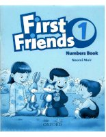 First Friends numbers book pdf