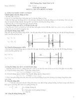 Chuyên đề bồi dưỡng học sinh giỏi Vật lý 8