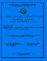 báo cáo thực tập tốt nghiệp đo đạc phục vụ tặng cho quyền sử dụng đất. tặng cho quyền sử dụng đất