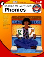reading for every child phonics grade k