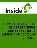 selecting the right credit card processing company for your business