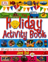 the holiday activity books