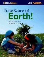 take care of earth