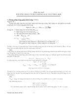 Tuyển tập các phương pháp giải toán hóa học luyện thi đại học cực hay