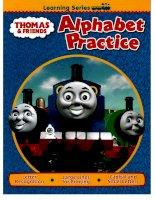 thomas and friends alphabet practice