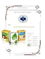 Tìm hiểu bao bì trong quy trình sản xuất sữa đậu nành