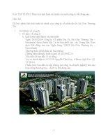 phân tích tình hình tài chính của công ty cổ phần địa ốc Sài Gòn Thương Tín.