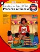 reading for every child phonemic awareness grade k-1