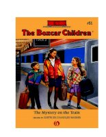 the boxcar children the mystery on the train