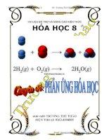 Tài liệu bổ trợ và nâng cao kiến thức hóa học 8