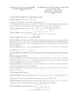 đề thi thử đại học môn toán có đáp án năm 2014 trường tống duy tân