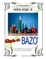 Chuyên đề Bazơ  (Tài liệu bổ trợ và nâng cao kiến thức Hóa học 9)