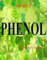 bài giảng hóa học 11 bài 41 phenol
