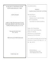 NGHIÊN CỨU BIẾN TÍNH CHITIN BẰNG KỸ THUẬT POLYME HÓA GHÉP BỨC XẠ ĐỂ CHẾ TẠO VẬT LIỆU HẤP PHỤ ION KIM LOẠI As(III), As(V), Cd2+, Pb2+