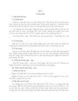 GIÁO ÁN LỊCH SỬ 11 BÀI 3: TRUNG QUỐC
