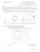 78 đề thi môn công nghệ chế tạo máy đồ gá